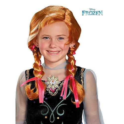 Disguise Disneys Frozen Anna Child Wig Girls Costume One Size Child