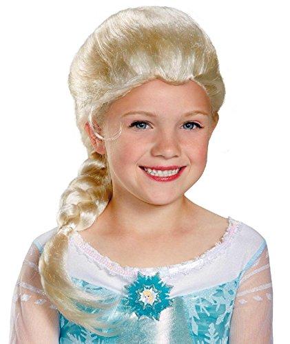 Disguise Disneys Frozen Elsa Child Wig Girls Costume One Size Child