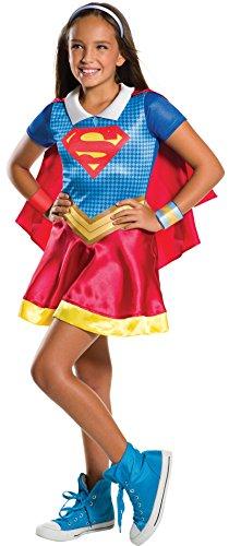 Rubies Costume Kids DC Superhero Girls Supergirl Costume Small