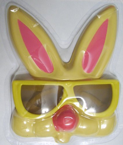 Easter Bunny Costume Glasses Bunny Glasses YELLOW