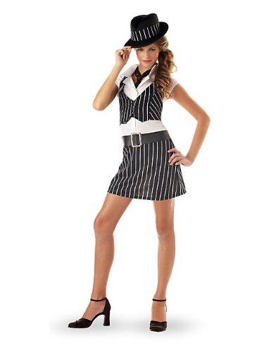 Teen Gangster Girl Kids Costume