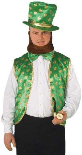 Forum St Patricks Day Leprechaun Costume Kit GreenGold One Size
