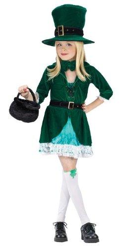 Lucky Leprechaun Costume - Child Size Small 4-6