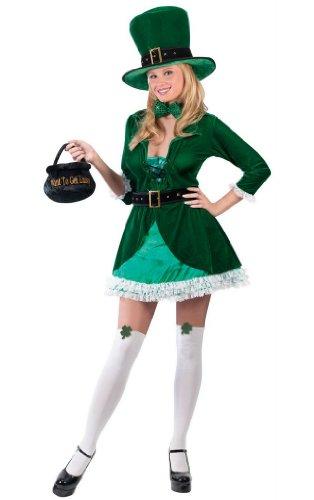 Luscious Leprechaun Costume - MediumLarge - Dress Size 10-14
