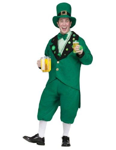 Pub Crawl Leprechaun Costume - Standard - Chest Size 33-45