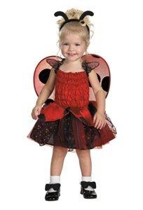 Disguise Babybug Ladybug Girls Costume 4-6X