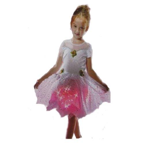 CVS Girls Light Up Fairy Halloween Costume White S