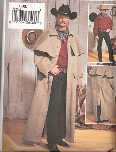 Butterick Pattern 3830 Mens Historical costume size L-XL by Butterick
