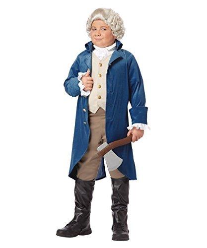 George Washington Boys Historical Costume by California