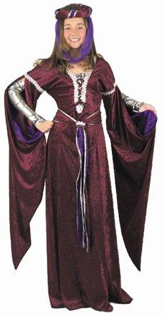 Childs Medieval Queen Costume Size Medium 8-10