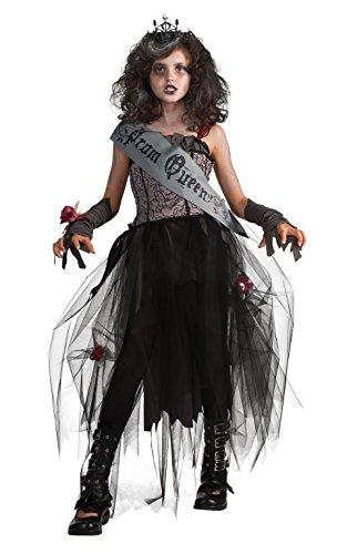 Rubies Deluxe Goth Prom Queen Costume - Medium 8-10