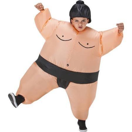 Boys Inflatable Sumo Wrestler Halloween Costume by Sunstar Industries