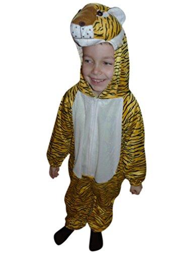 Fantasy World BoysGirls Tiger Halloween Costume Sizes 4T An28