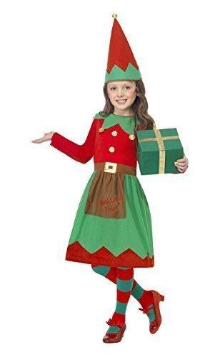 Fancy Me Big Boys Santa Little Helper Elf Christma Festive Fancy Dres Costume 7-9 Years Green