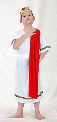 Henbrandt Little Boys Roman Emperor Fancy Dres Costume 4-6 Years Multicoloured