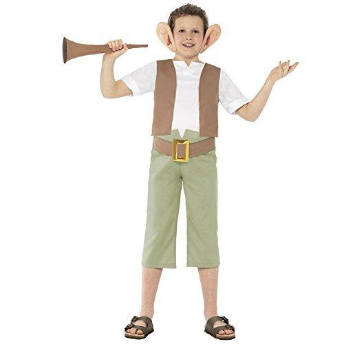 Smiffys Big Boys Bfg Roald Dahl Fancy Dres Costume Ages 10-12 Years Brown