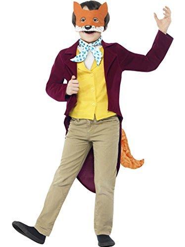 Smiffys Big Boys Fantastic Mr Fox Roald Dahl Fancy Dres Costume Ages 7-9 Years Red