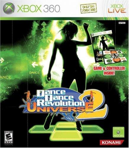 Dance Dance Revolution Universe 2 Bundle with Dance Mat -Xbox 360