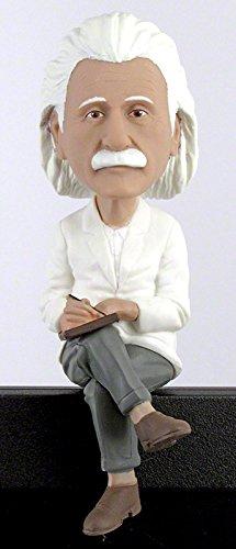 Albert Einstein Bobblehead Computer Sitter