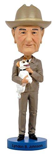 Lyndon B Johnson Royal Bobbles Bobblehead Figurine