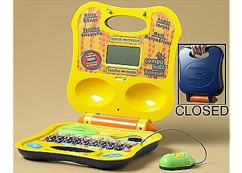 Compukidz Bilingual Toy Laptop Computer