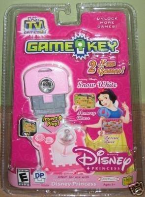 Disney Princess Snow White Plug it in Play TV Games GameKey 2 Games DP