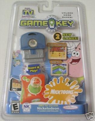 Plug Play TV Games Nicktoons Game Key 2 NEW GAMES