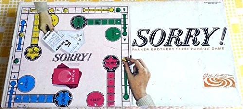 Vintage Sorry Game 1964