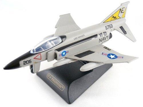 F-4 Phantom Phantom airplane die-cast 6 inches