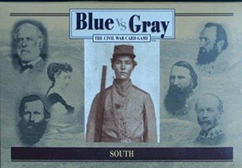 Blue vs Gray The Civil War Card Game - South