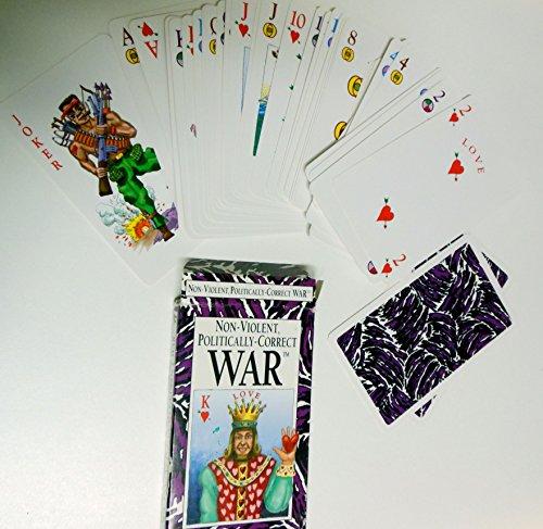 Non-Violent Politically-Correct War Card Game