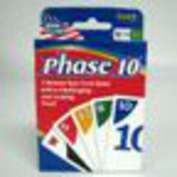 Phase 10 Card Games Case Pack 12  Kid Toy  Hobbie  Nice Gift