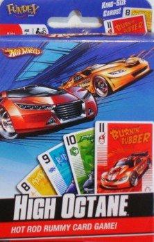 Hot Wheels Hot Rod Rummy Card Game