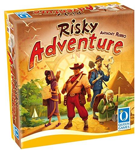 Risky Adventure Family Dice Board Game