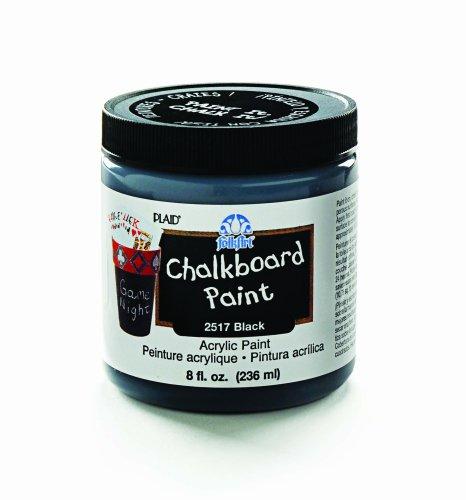 FolkArt 2517 8-Ounce Chalkboard Paint Black