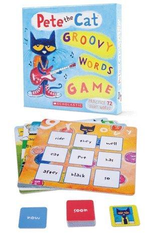 Pete the Cat Groovy Words Game Sight Words Bingo