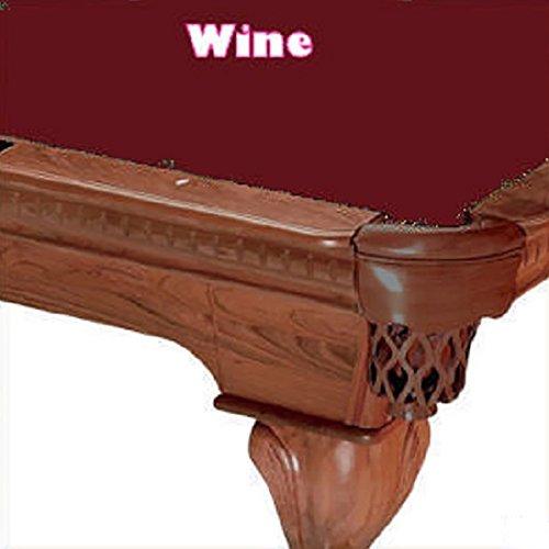 8 Oversized Simonis 760 Wine Billiard Pool Table Cloth Felt