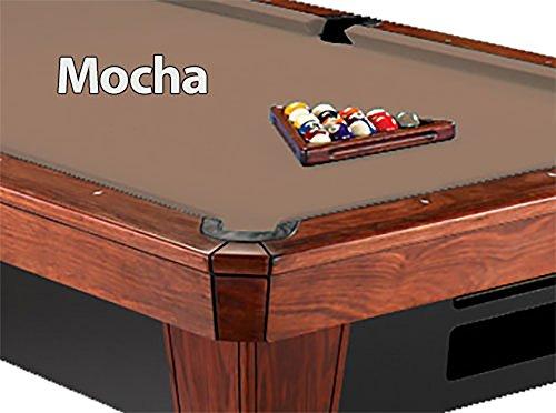 8 Simonis 860 Mocha Pool Table Cloth Felt