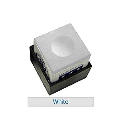 One Dozen White Silver Cup Pool Cue Chalk