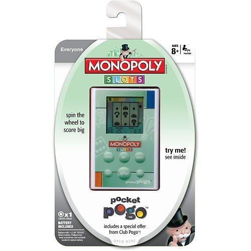 Monopoly Slots Pocket Pogo Handheld Electronic Game
