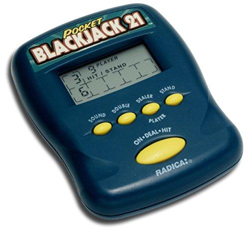 Pocket Blackjack 21 Electronic Handheld Game 1997 Edition