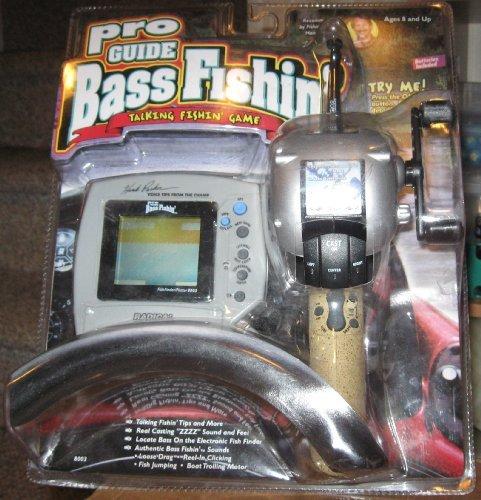 Pro Guide Bass Fishin - Electronic Handheld Talking Fishing Game Radica