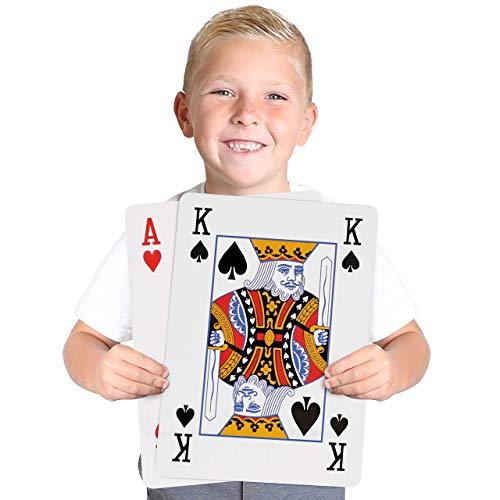 Kangaroos Huge Jumbo Playing Cards Giant 8-14 x 11-34 Deck of Cards