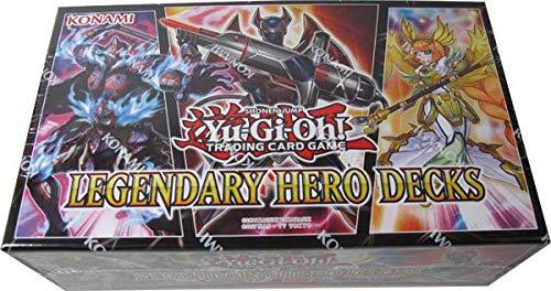 Yugioh Legendary Hero Decks Trading Card Game