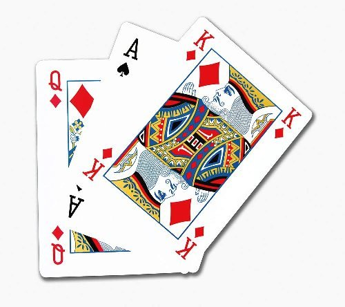 Playing Cards Pack A4 Size Large Novelty Item
