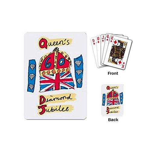Queen Elizabeth II 60 Years Diamond Jubilee Playing Cards Pack of 54