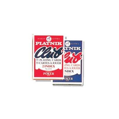 Piatnik 13358 Magic Poker Red Playing Cards