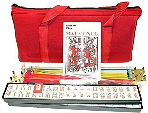 4 Pushers  Brand New Complete American Mahjong Set in Burgundy Bag  166 Tilesmah Jong Mah Jongg Mahjongg by KT Mahjong