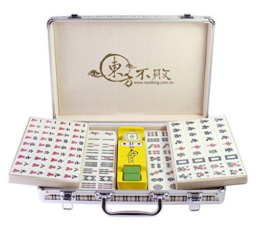 Eastking Premium Aluminum Case Chinese Mahjong Set 146 tiles
