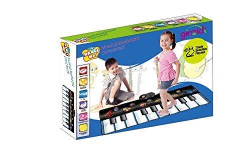 Ginzick Kids Musical Instruments Piano Fun Dance Mat